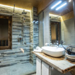 bagno camera family alpine rooms cervinia